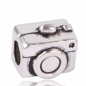 Charming Silver Camera Charm, pandoraStyle